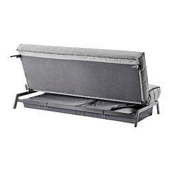 KARLABY/KARLSKOGA 3-zits slaapbank - Isunda grijs - IKEA