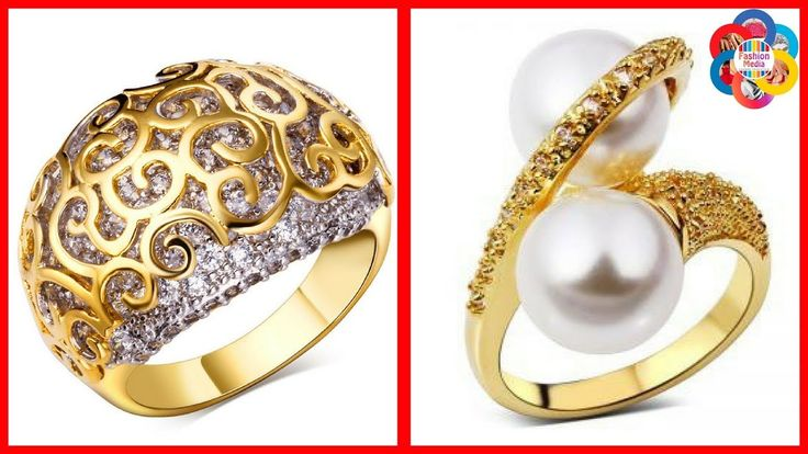 Latest Gold Ring Designs/ Daily Wear Gold Rings Designs For Women/Rings ...