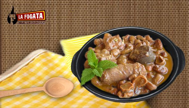 Cocido de Habas con longaniza y costilla