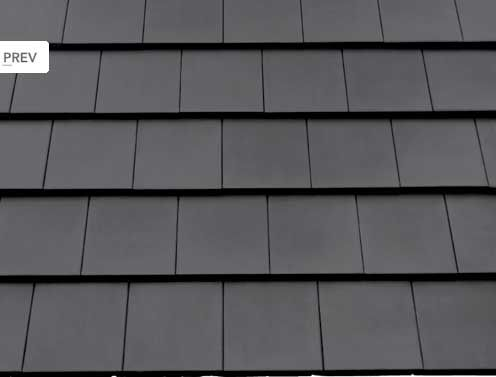 Net als alles moet ook de dakpan modern zijn, we kiezen daarom voor een strakke vlakke dakpan.