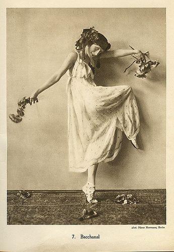 vintage dance  Anna Pavlova vintage ballet ballerina photo