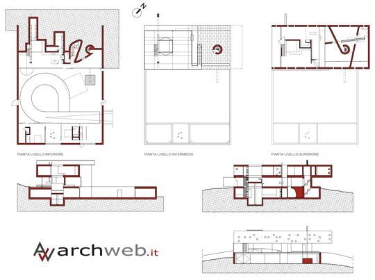 Rem Koolhaas Maison Bordeaux Floor Plan  #architecture #Koolhaas #OMA #Rem Pinned by www.modlar.com