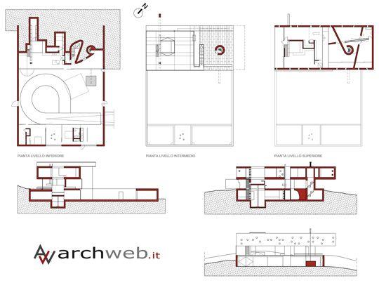 Rem Koolhaas Maison Bordeaux Floor Plan #architecture #