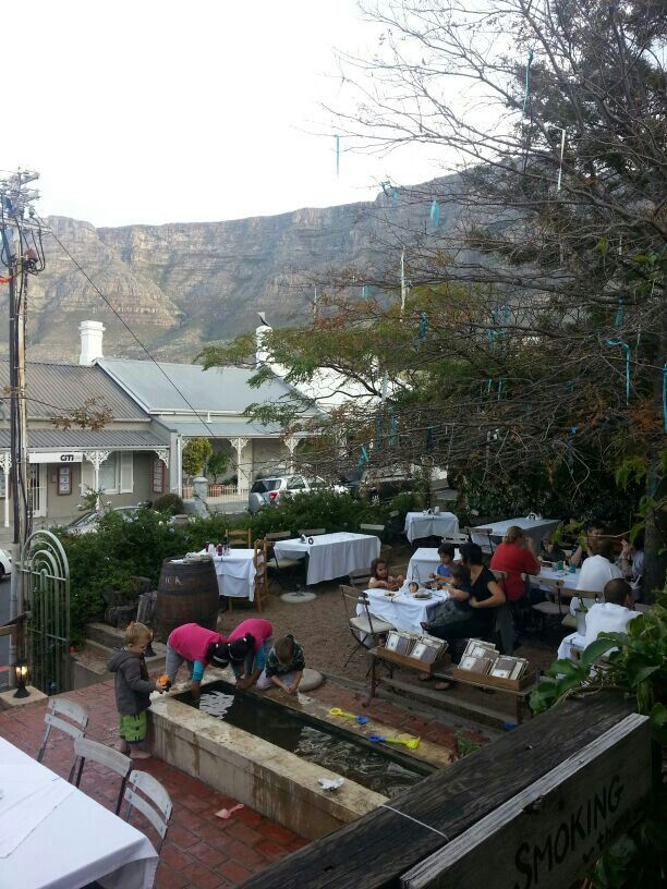 Cafe Paradiso, upper Kloof street. Cape Town