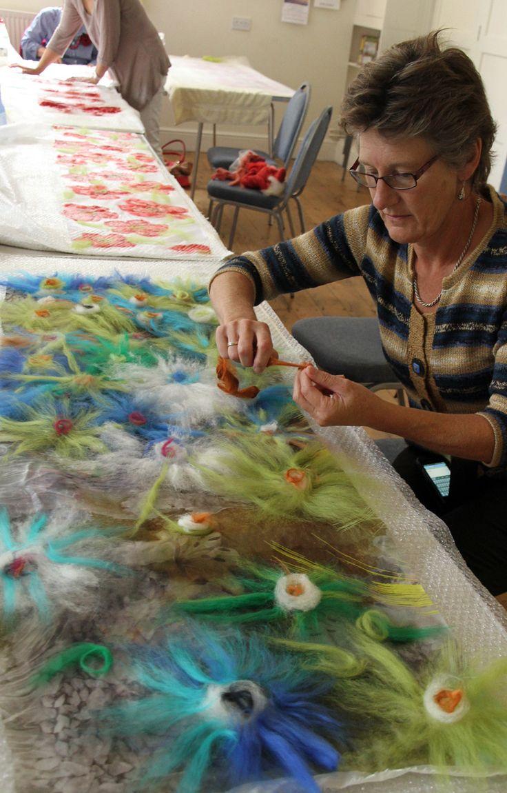 nuno felting | Felt Making Courses | Childrens parties | Teacher training…