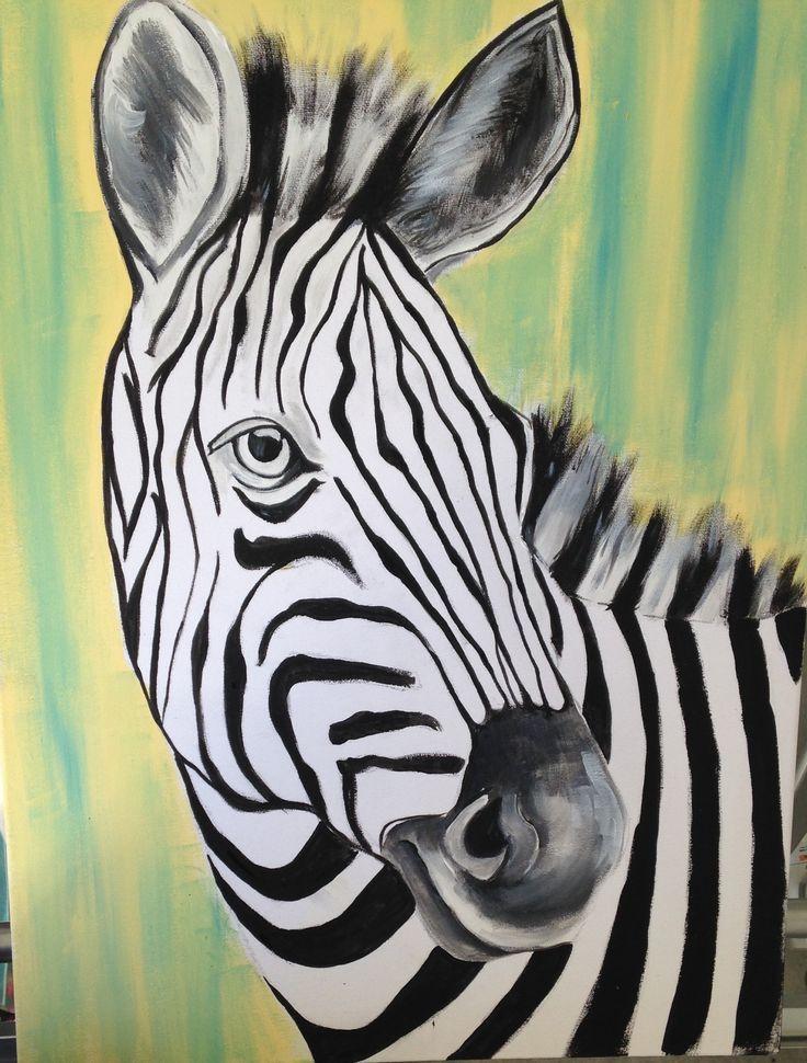 Zebra painted November 15