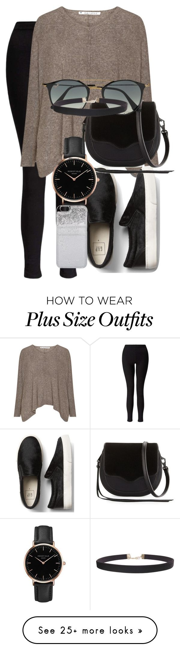 """""""Untitled #176"""" by aryasally on Polyvore featuring Miss Selfridge, Rebecca Minkoff, Topshop, Ray-Ban, Humble Chic and MICHAEL Michael Kors"""