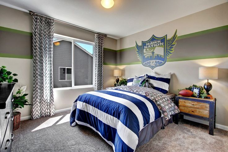 27 Best Images About Seahawks Room On Pinterest Bedroom