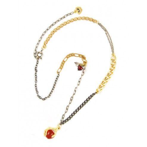 Disney Couture Snow White Poison Apple Necklace