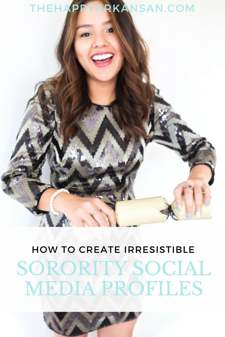 How To Create Irresistible Sorority Social Media Profiles   Help your sorority stand out online by following this advice on how to create the best sorority social media profiles.