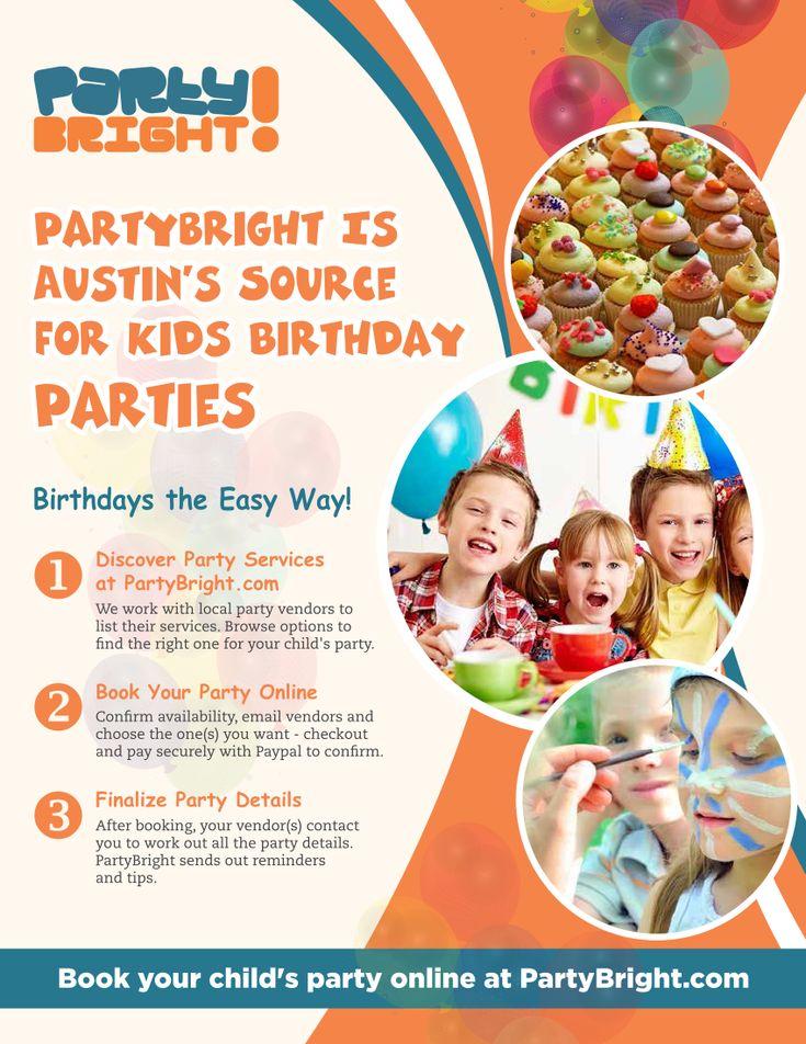 Kids Birthday Party Austin Tx