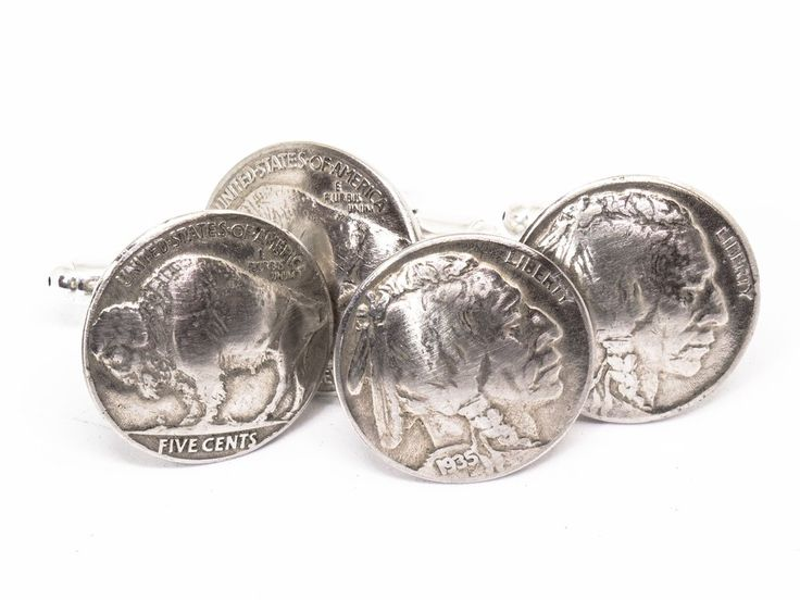 Cufflinks - Buffalo Nickels