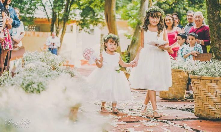 Daminhas - Casamento final de tarde