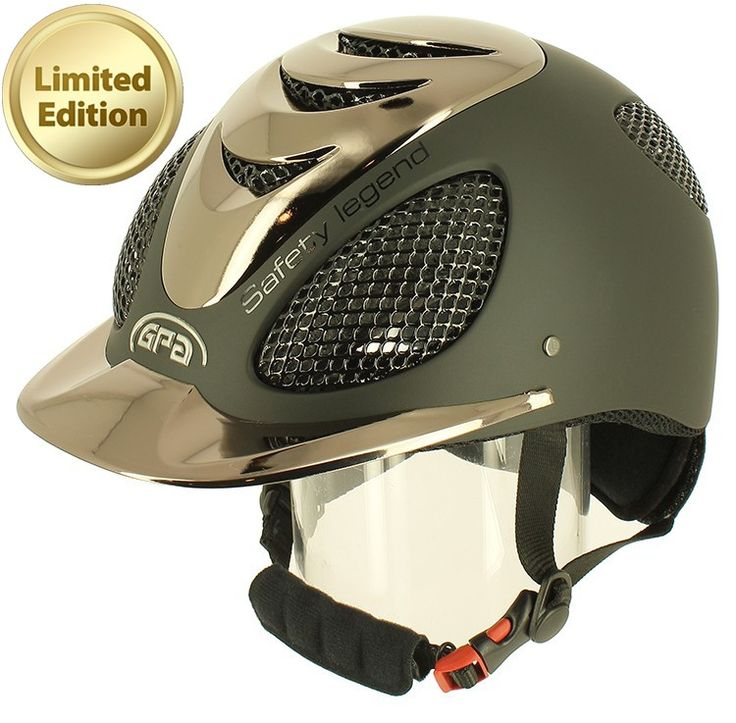 Casque Equitation Série spéciale Speed Air Chrome Gpa