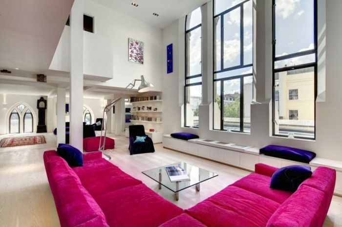 1000 images about chambre coucher on pinterest for Couleur framboise