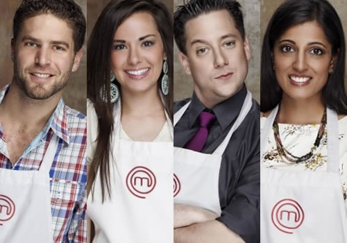 Season 1final 4! Masterchef US (Lee Knaz, Whitney Miller, David Miller, Sheetal Bhagat)