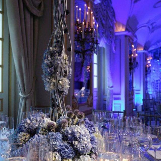 Blue Wedding Ideas, Blue Wedding Decoration, Luxury Blue Weddings,