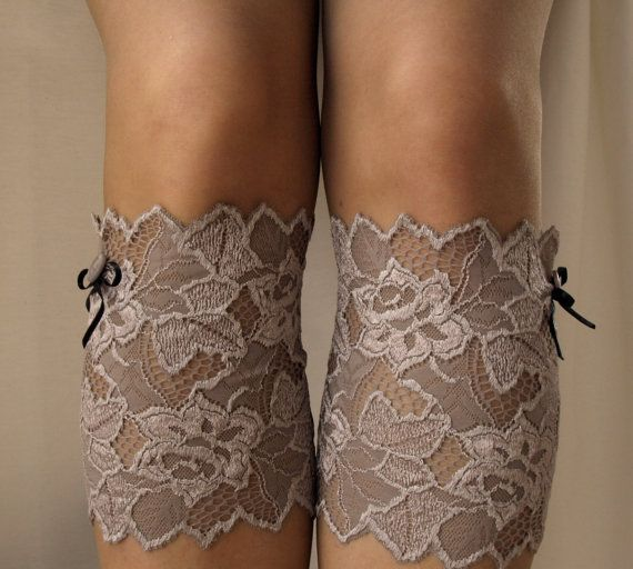 Lace Boot Cuff Socks?  Want some