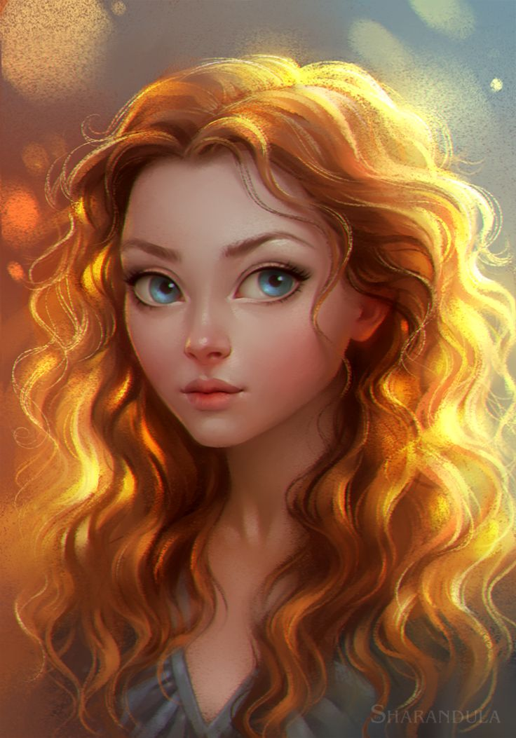 portrait by sharandula on DeviantArt