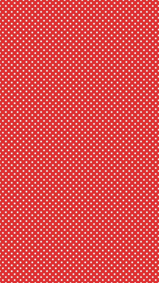 White Dots Polka Pattern 2018 Ios 11 Iphone X Wallpaper