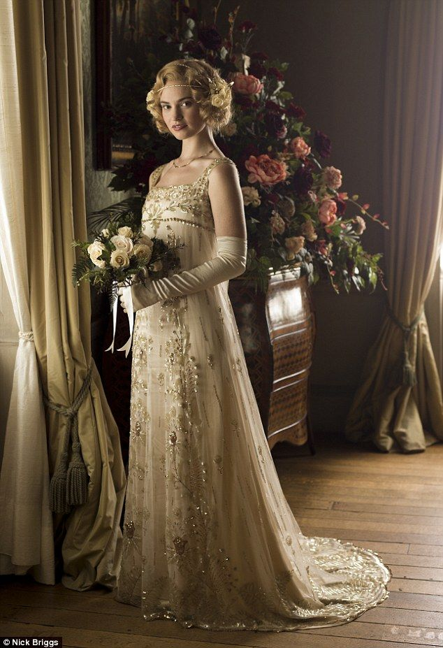 285 best images about celebrity hollywood movie for Downton abbey style wedding dress