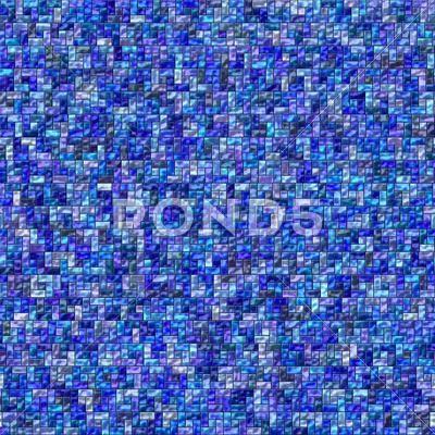 Blue abstract fantasy glass tiles texture - Stock Illustration | by Iguanasbear