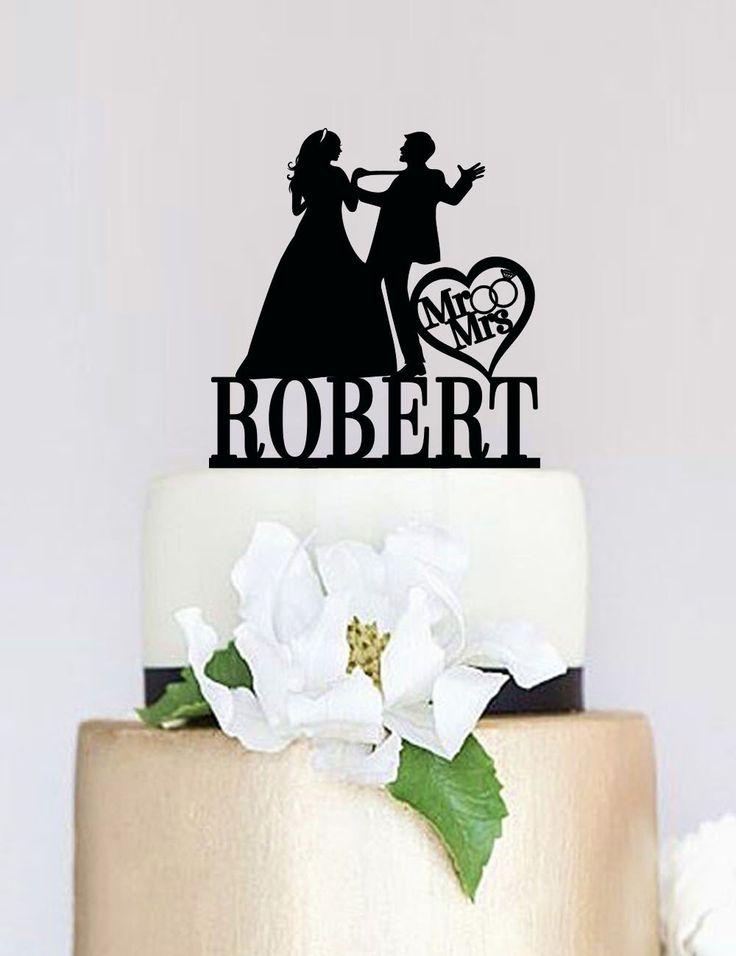 Funny Wedding Cake Topper,Mr and Mrs Cake Topper With Last Name,Custom Cake Topper,Bride and groom Silhouette,Unique Cake Topper C074 by SpecialDesignForYou on Etsy https://www.etsy.com/listing/239103495/funny-wedding-cake-toppermr-and-mrs-cake