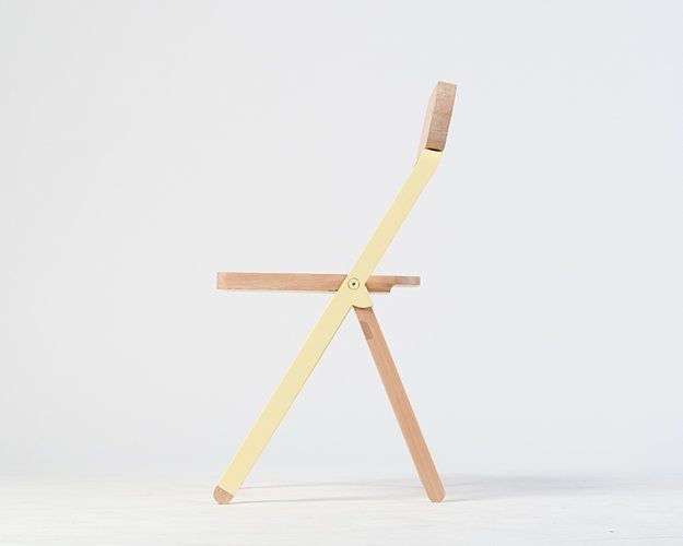 4 | A Stylish Folding Chair You Won't Stash Out Of Sight | Co.Design: business + innovation + design