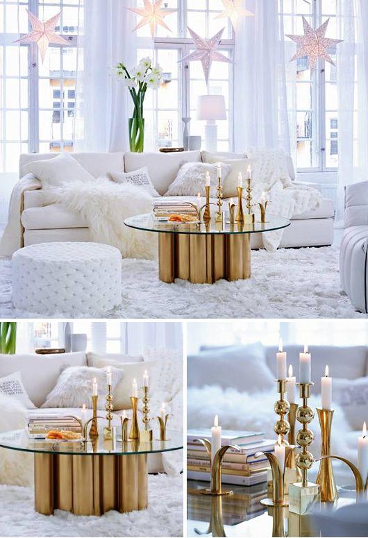 ONE DAY! MEEE too ... What an amazingly BEAUTIFUL room. White gold [ Jul Julen Christmas Xmas Joulu Noël Navidad 聖誕節 рождество ]