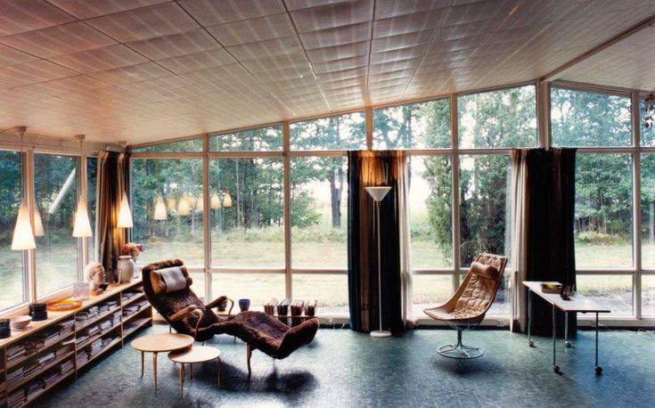 interior in house by bruno mathsson