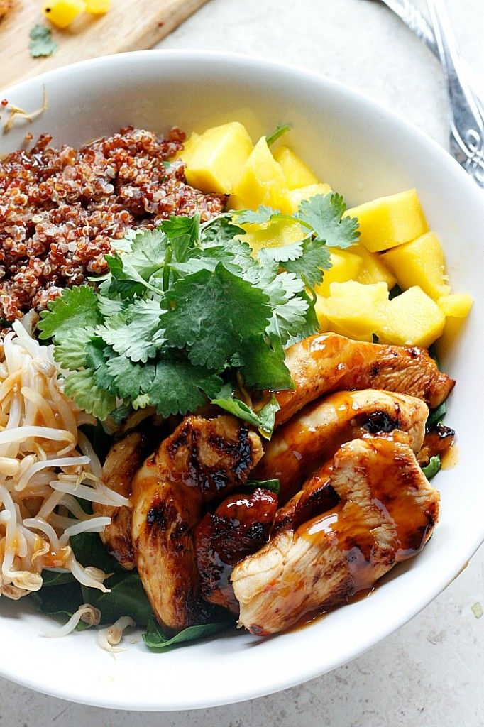 Thai Chicken Coconut Quinoa