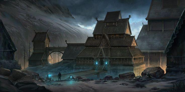 Concept Fantasy Architecture and Interior | 273 фотографии