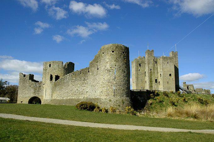 King John's Castle in Trim, Co. Meath along the Boyne Valley - Andy Spearman andyspearman.net