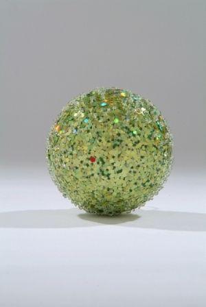 80mm Pistachio Sugar Glitter ball   Code: BADE008GRLMSGSQ