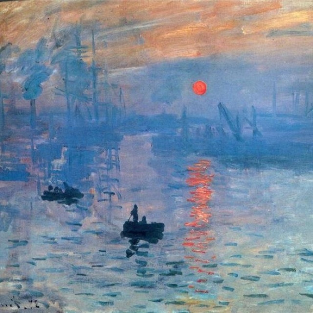 Claude Monet 'Impression Sunrise'