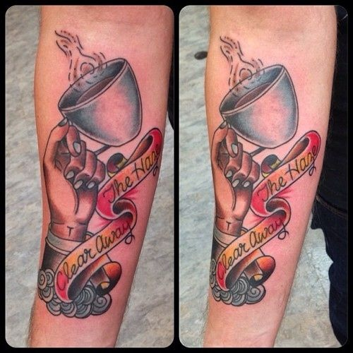 Tattoo For Coffee Lovers