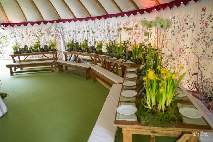 Within one of our LPM Bohemia yurts at a magical woodland 5th birthday party.