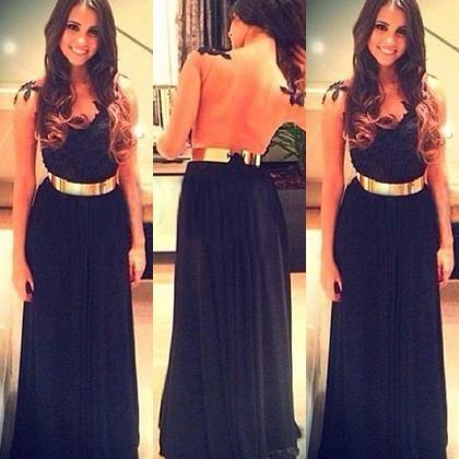 Sexy Black Tank Sleeveless  Dress