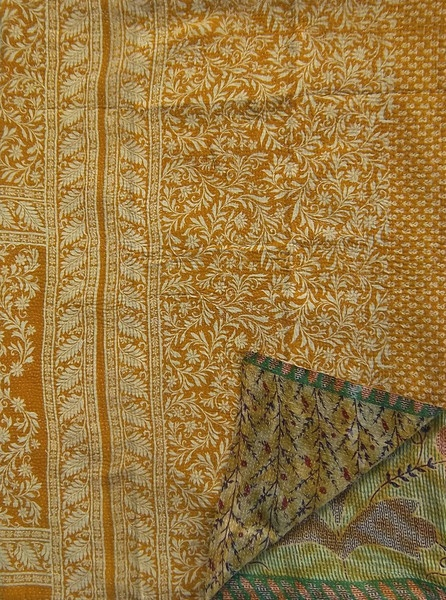 Daya Kantha Quilt, as seen in the Fall 12 issue of VIVmag http://www.zinio.com/pages/VIVmag/FALL2012/416238323/pg-106