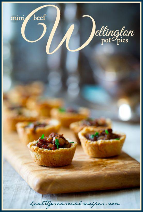 mini-beef-wellington-pot-pies | Healthy Seasonal Recipes @Katie Schmeltzer Webster #DowntonBlogParty