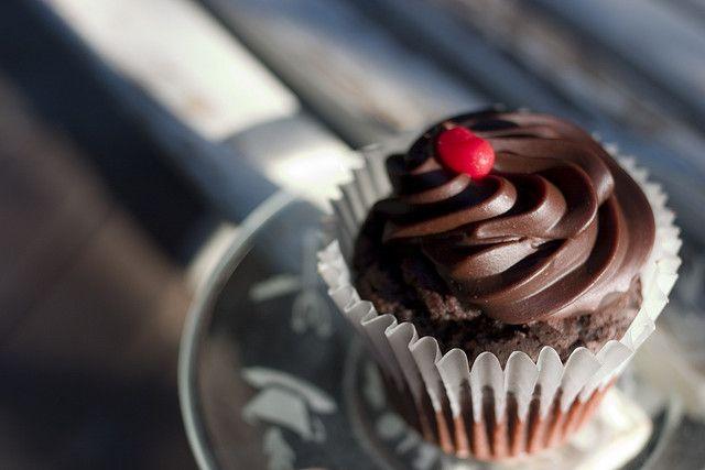 Heerlijke chocolade kaneel cupcakes voor een prachtige winterse dag.