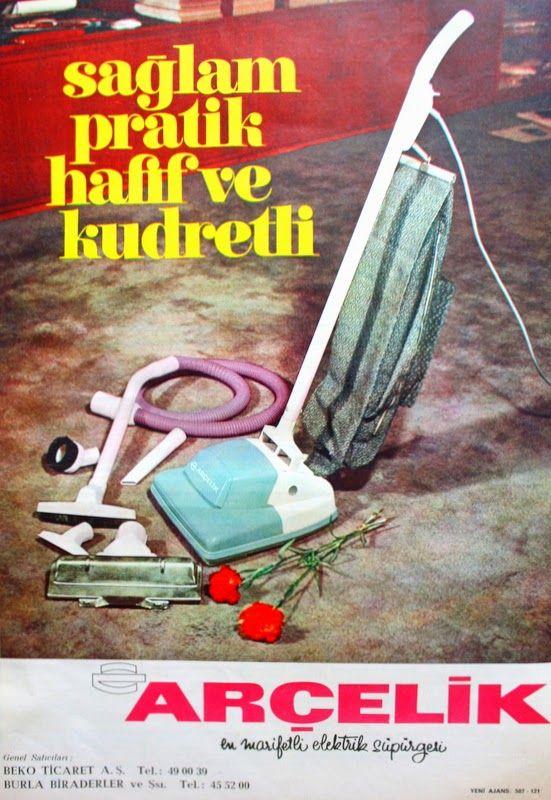 OĞUZ TOPOĞLU : arçelik elektrikli süpürge 1971 nostaljik eski küç...