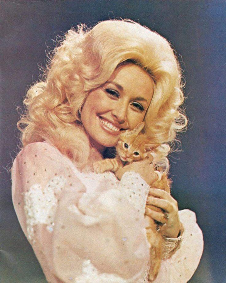 Dolly Parton Smukke kvinder, Kendte, Katte