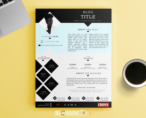 Best MediaPress Kit Templates Images On   Press Kits