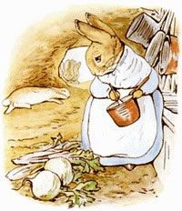 He was so tired that he flopped down upon the nice soft sand on the floor of the rabbit-hole and shut his eyes. His mother was busy cooking; she wondered what he had done with his clothes. It was the second little jacket and pair of shoes that Peter had lost in a fortnight!