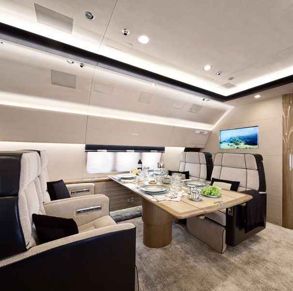 My Luxury Notebook Private Boeing 737 Bbj By Alberto