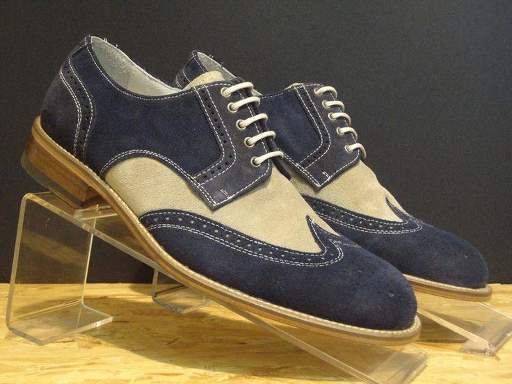 PHANTOM #scarpe da #uomo #feshion  realizzato con tomaia bicolore
