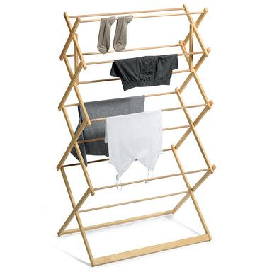 Wooden Clothes Airer / Dryer - Manufactum (€127.00) - Svpply