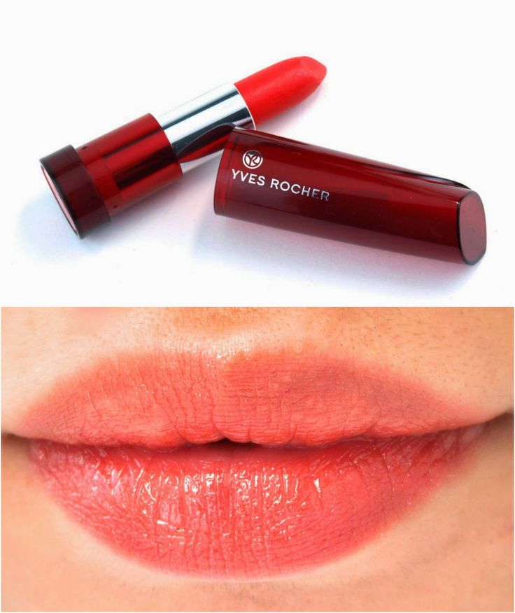 Yves Rocher Sheer Botanical Lipsticks: Review and Swatches 61. Tangerine:(soft orange)