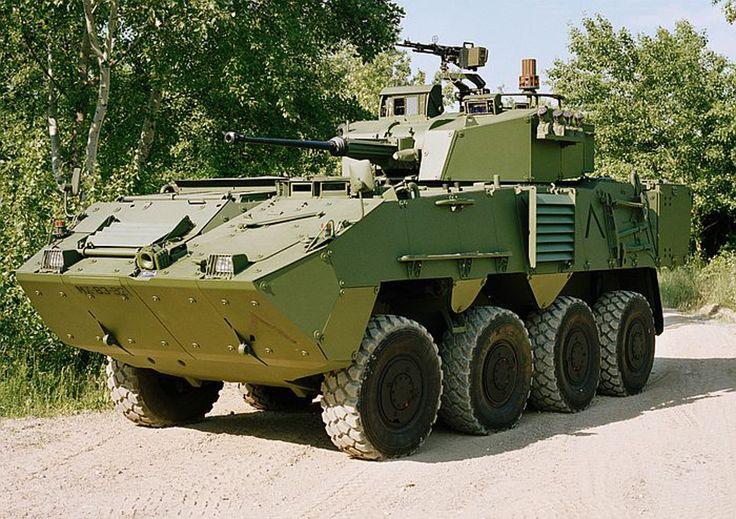 Tank photo Portuguese Pandur-II